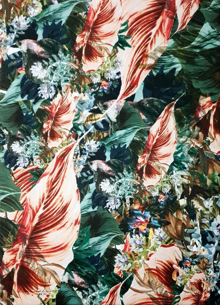 Floral Reef Canvas | IV Fashion Design