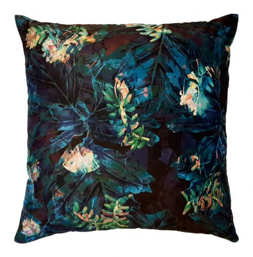 Mexican Nightfall Velvet Scatter Cushion | IV Fashion Design