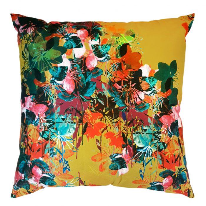 Golden Gaura Whiskers Scatter Cushion| IV Fashion Design