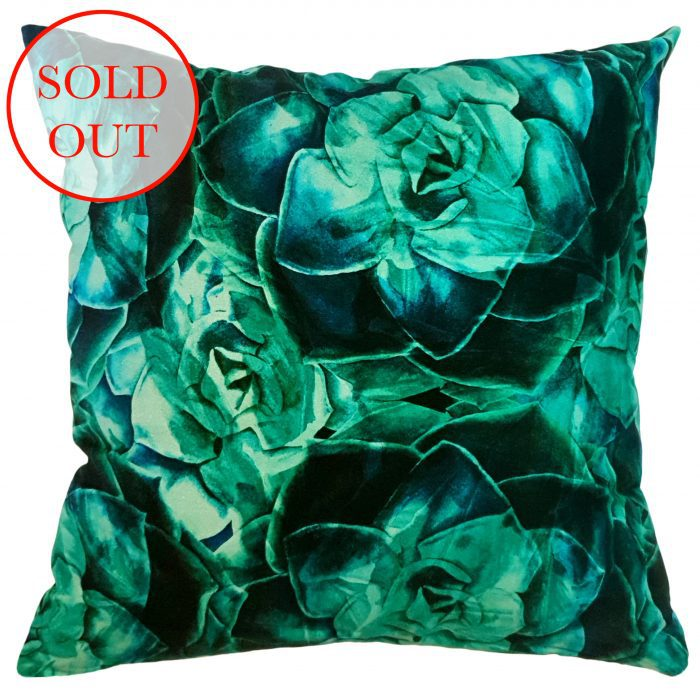 Underwater Succulent Scatter Cushion | Lemon Litchi By IV